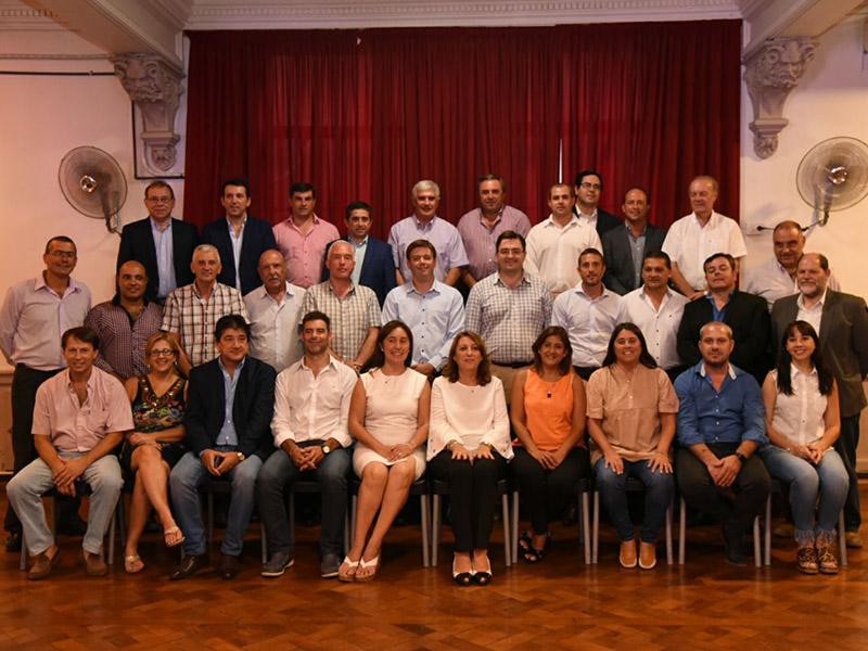 Municípios da Argentina se encuentram em Assembleia da RAMCC