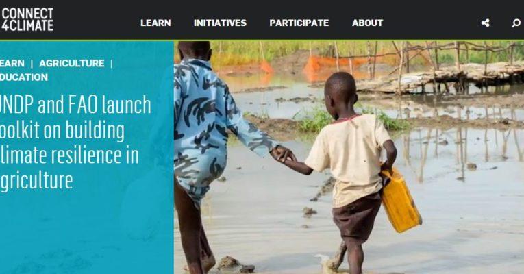PNUD y FAO imparten curso online sobre resiliencia climática y agricultura
