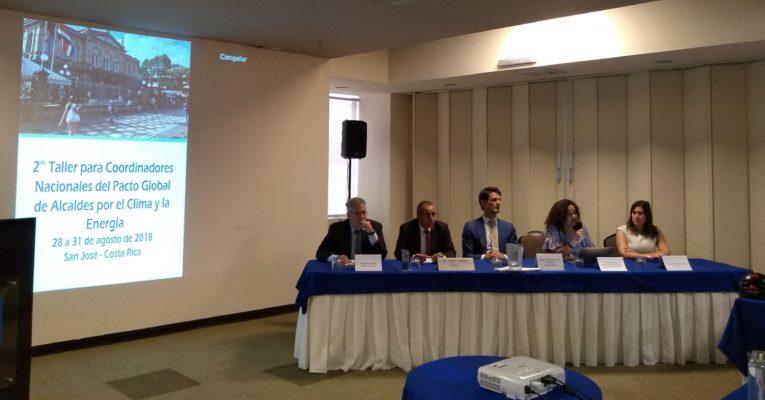 Segundo Taller del Pacto Global de los Alcaldes marca avanzo en la América Latina