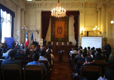 Prefeitos chilenos se reúnem para discutir as mudanças climáticas e formalizar seus compromissos sobre o tema