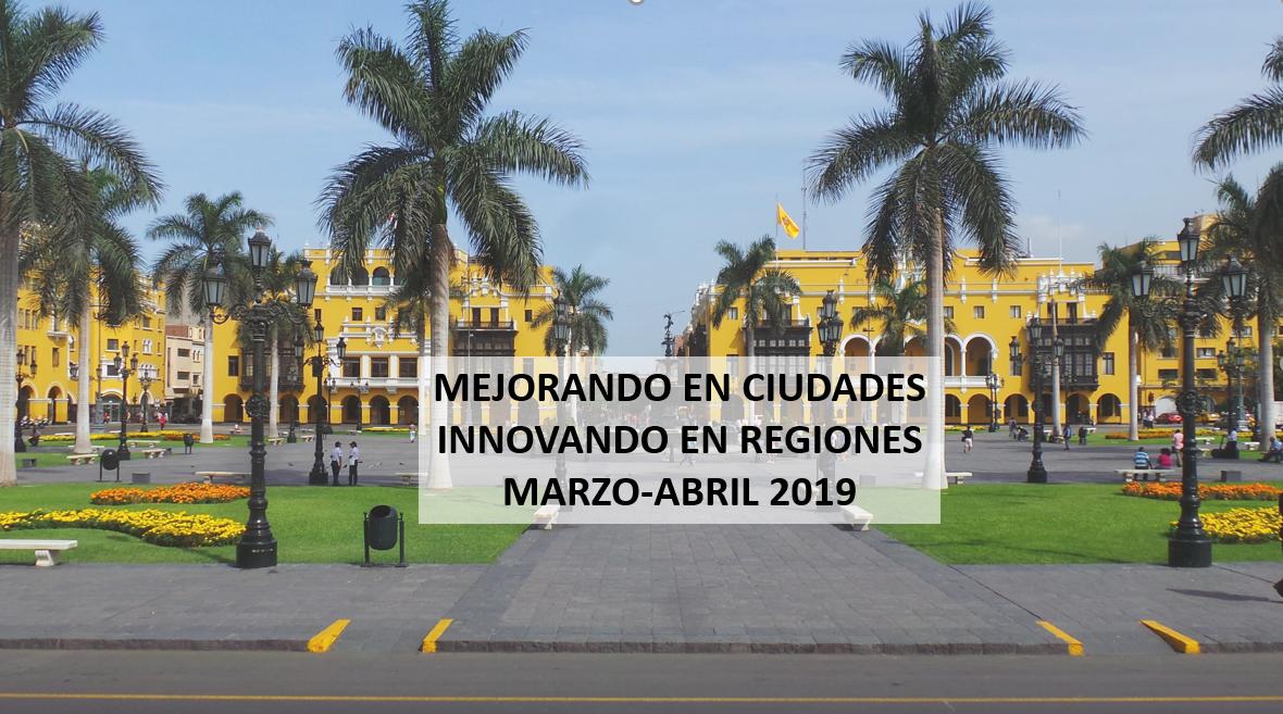 ¡Ya está disponible la segunda entrega del newsletter del Programa de Cooperación Urbana Internacional en Latinoamérica y Caribe!