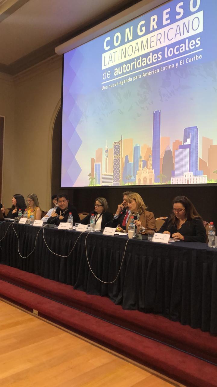 Alcaldes latinoamericanos firmaron acuerdos sobre sostenibilidad en Chile