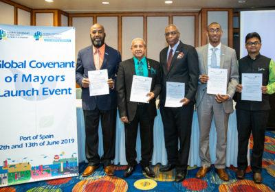 El Pacto Global de Alcaldes fue lanzado en el Caribe para ayudar a los gobiernos locales a responder a las amenazas del cambio climático