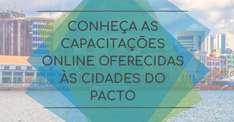 Conheça as Capacitações Online Oferecidas às Cidades Signatárias do GCoM