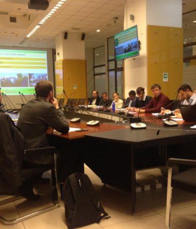 Intercambio de Experiencias entre la RAMCC Y la Red Chilena de Municipios Frente al Cambio Climático