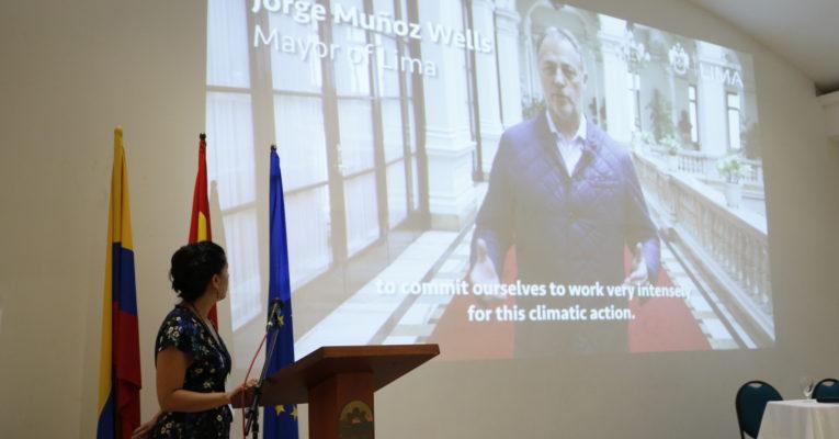 O Prefeito de Lima, Peru, representará as cidades latino-americanas perante o Pacto Global de Prefeitos pelo Clima e Energia