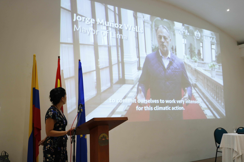 Alcalde de Lima, Perú Representará a Ciudades de Latinoamérica ante el Pacto Global De Alcaldes por el Clima y la Energía