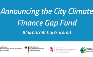 Ciudades y Gobiernos Nacionales Forman Alianza en Fondo de Financiación de Déficit Climático de 100 millones de Euros