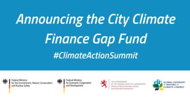 Cidades e Governos Nacionais Formam Parceria em Fundo de Financiamento de Déficit Climático de 100 Milhões de Euros