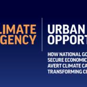 Emergencia Climática, Oportunidad Urbana