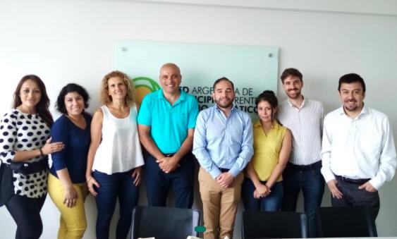 La Red de Municipios chilena y autoridades locales visitan la Red Argentina de Municipios frente al Cambio Climático