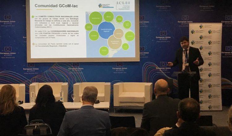 Importante mención al trabajo del Pacto Global de Alcaldes en Latinoamérica durante la COP25 de Madrid