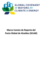 Global Covenant of Mayors Common Reporting Framework (CRF)