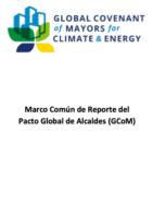 Marco Común de Reporte del Pacto Global de Alcaldes (GCoM)