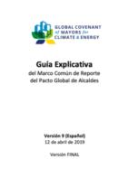 Guía Explicativa del Marco Común de Reporte del Pacto Global de Alcaldes