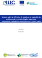 Reporte Sobre la Definición de Objetivos de Reducción de Emisiones para Municipalidades Argentinas