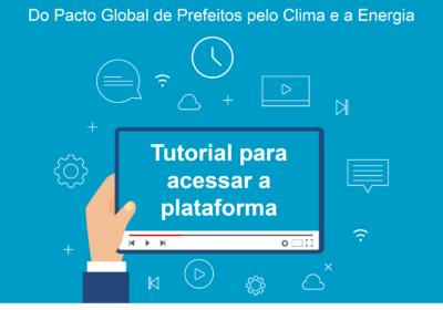 Plataforma unificada CDP & Iclei: Tutoriais orientam sobre como reportar ações climáticas