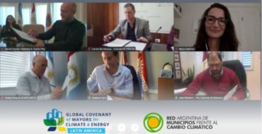 Cinco ciudades argentinas adhieren al Pacto durante iniciativa de la RAMCC