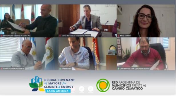 Cinco cidades argentinas aderem ao Pacto durante iniciativa da RAMCC
