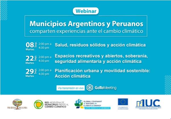 Experiencias locales argentinas y peruanas frente al cambio climático