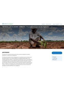 TOMANDO LAS DECISIONES CORRECTAS – Priorizando las opciones de adaptación