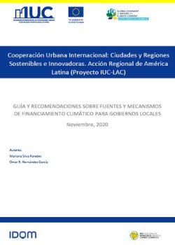 Guía y Mecanismos de Financiamiento Climático