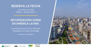 Recuperación verde en América Latina: un esfuerzo colectivo