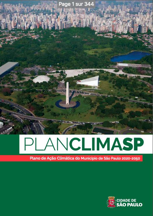 Plano de Ação Climática 2020-2050 – São Paulo, Brasil